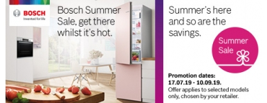 Bosch Summer Sale 17th July